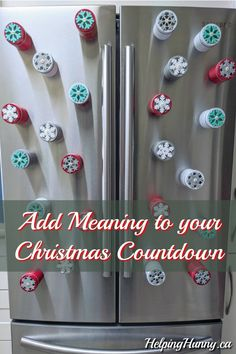 Your new favourite Christmas Countdown tradition: give back connect and have fun! Treatment Projects Care Design home decor Christmas Countdown, Christmas Crafts, Diy Stockings, Weekend Projects, Diy Projects, Have A Happy Day, Holiday Crafts, Holiday Decor, Christmas Entertaining