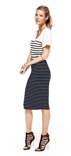 I lurveeee stripes : )