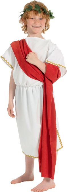 Child Greek Boy Costume [Ref 13722]  sc 1 st  Pinterest & Last-Minute Halloween Costume: Roman Toga | Easy Halloween DIY Ideas ...