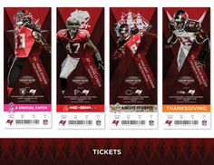 2016 Luxury Suite Ticket Packaging Mock Up on Behance Vincent Jackson, Ticket Design, Ticket Holders, Season Ticket, Sports Graphics, Wide Receiver, Design Inspiration, Design Ideas, Mockup