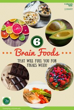 Ward off stress and keep your brain sharp by eating a well-balanced diet during finals week!