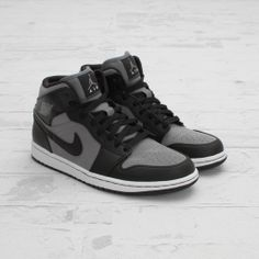 CNCPTS / Air Jordan 1 Mid (Cool Grey/Black-White)