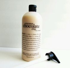 Philosophy Coconut Chocolate Chip Ice Cream Shampoo Shower Gel Bubble Bath. New with pump.