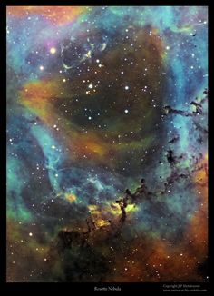 """Astro Anarchy: Caldwell 49, the """"Rosette Nebula"""""""