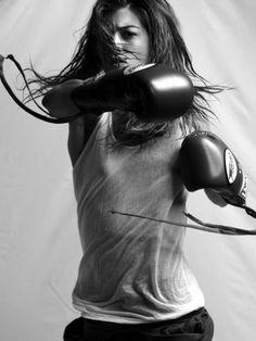 a mi abuela le gustaba el boxeo...