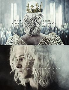 When Viserys sold their mother's crown, the last joy had gone from him.