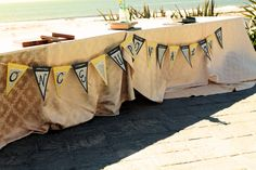 """Bridal Party table decor... """"Once Upon A Love"""" {the theme of our wedding}"""