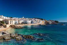 Calella de Palafrugell, Costa Brava, -Girona-