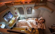 First class Emirates airline First Class Airline, Flying First Class, First Class Flights, Emirates Airline, Luxury Private Jets, Private Plane, Travel Goals, Travel Style, First Class