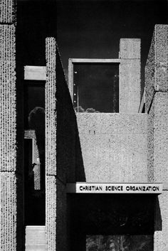 Paul Rudolph Champaign Christian Science  #architecture #brutalism Pinned by www.modlar.com