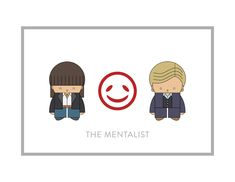 The Mentalist by mintparcel on Etsy https://www.etsy.com/listing/582006631/the-mentalist