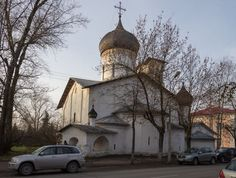 Церковь Николы со Усохи. Псков.