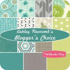 Ashley Newcomb's Blogger's Choice Fat Quarter Bundle - Fat Quarter Shop