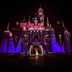 The Sleeping Beauty's Castle Forecourt at Disneyland for wedding pictures. Yes, please.