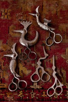 Shokir Kamalov's beautiful utilitarian scissors.