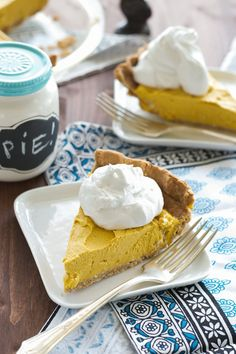 Pumpkin Coconut Pie An Unrefined Vegan