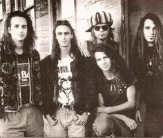 Pearl Jam - Stone, Mike, Jeff, Eddie, Dave
