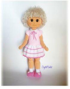 Crochet Dolls Free Patterns, Teddy Bear, Animals, Amigurumi Doll, Beige, Dolls, Dresses For Babies, Templates, Animales