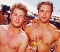 Adam Pitts & Andy Brown from the band Lawson <3