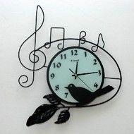 Ceas de perete metalic Clock, Retro, Wall, Gifts, Home Decor, Watch, Presents, Decoration Home, Room Decor