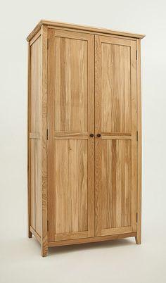 Hereford Rustic Oak Wardrobe