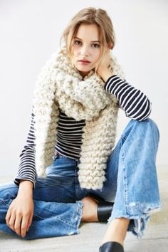 Icelandic Rib Scarf - Urban Outfitters