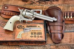Colt single action peacemaker air pistol Big fun and great practice tool for SASS shooters ! Airsoft, Vintage Toys 1960s, Gun Holster, Holsters, Single Action Revolvers, Cowboy Action Shooting, Revolver Pistol, Westerns, Cowboy Gear