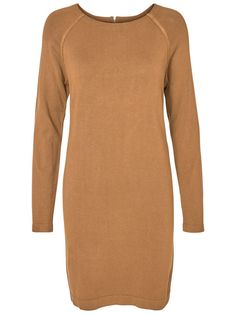 Dress from VERO MODA. Style with long boots and a vest for a real 70s look.