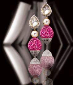 Colourful jewellery crafted by Birdhichand Ghanshyamdas jewellers