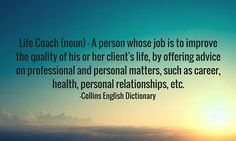 life coach definition