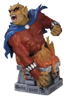 DC Direct Heroes of the DC Universe: Series 2: Etrigan the Demon Bust *** Find out more about the great product at the image link.