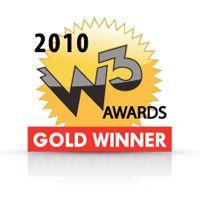 W3 Awards - Gold Winner 2010