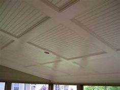 love this ceiling idea fox lake porch? Floor To Ceiling Cabinets, Home Ceiling, Home Projects, Fixer Upper House, Home Remodeling, New Homes, Porch Builders, Den Decor, Living Room Ceiling