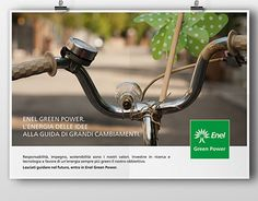 """Check out new work on my @Behance portfolio: """"Enel Green Power L'energia delle idee"""" http://on.be.net/1iGMJtM"""