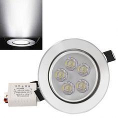 New 15W LED Ceiling Recessed Down Light Fixture Lamp Light & Driver Warm/Cool White