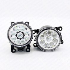26.34$  Know more  - 2pcs Car Styling Round Front Bumper LED Fog Lights DRL Daytime Running Driving  For VAUXHALL ASTRA Mk IV (G) Convertible 2001/03