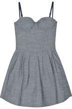 linen lover corset denim dress £313.04 http://www.net-a-porter.com/product/62865