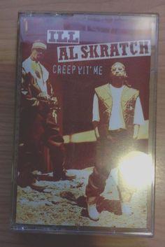 "Ill Al Skratch ""Creep Wit Me"" OOP CASSETTE 1994 Hip-Hop New York #EastCoast"