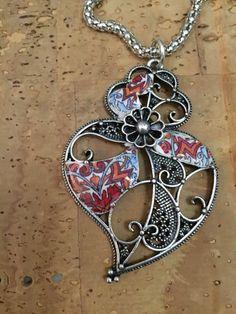 Beautiful set, necklace and earrings de LasJoyitasDeMarie en Etsy