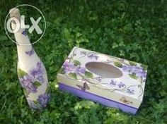 Chustecznik Decoupage Decoupage, Tissue Boxes, Patterns, Home Decor, Handkerchiefs, Box, Pintura, Block Prints, Decoration Home