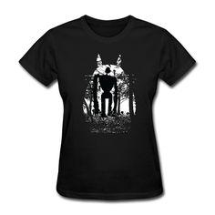 """Купить товарМода миядзаки футболка лес панк о образным вырезом Girl'sArt футболки для женщин в категории Футболкина AliExpress.     Детали продукта:     Наша Футболка 100% усадкой хлопка из крупнейший и номер один """"Gildan"""", высокого качес"""