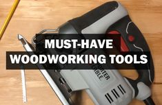 Don't Know what Woodworking Tools you need to get Started? Checkout my 7 MUST-HAVE best wood tools if you're a beginner on a budget! diy for beginners plans tips tools Must Have Woodworking Tools, Woodworking Tools For Beginners, Essential Woodworking Tools, Antique Woodworking Tools, Unique Woodworking, Must Have Tools, Woodworking Store, Woodworking Classes, Woodworking Techniques