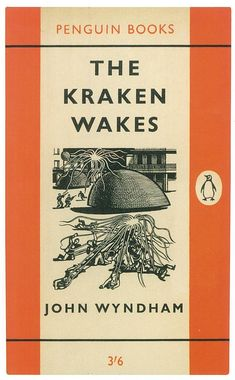 1961 'The Kraken Wakes' cover by Denis Piper