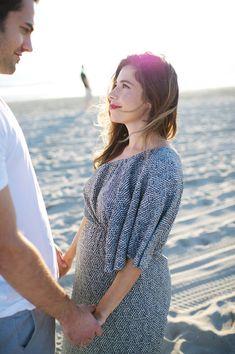 Newport Beach Couple Maternity Session
