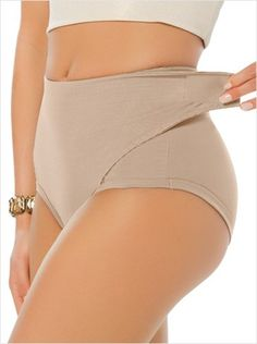 postpartum panty with adjustable belly wrap--MainImage