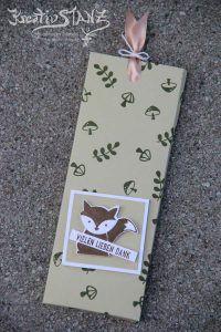 Kreativ-Stanz Foxy Friends Stempelset und Stanze Fuchs Stampin' Up! Ziehschokolade #chocolate #foxy friends http://kreativstanz.bastelblogs.de/ Kreativstanz – Stampin' Up!
