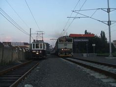 Tram vs train