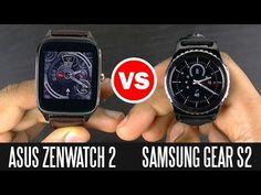 Samsung Gear S2 vs Asus ZenWatch 2 - Smart Watch Comparison - YouTube