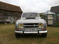 eBay: 1985 Renault 4 GTL Nice original condition, RHD, MOT Aug17, 2cv 2cv6 in Herts!