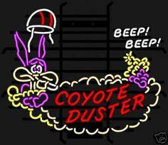 Coyote Duster Hemi 426 Mopar Roadrunner Neon Sign